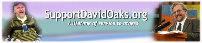 Please support David W. Oaks